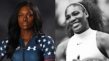 Michelle Obama, Serena Williams, and moms are inspiring these Olympians