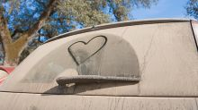 Sorprende al mundo dibujando sobre coches sucios con un hisopo