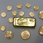 Gold sprints to over five-year peak after Fed hints at rate cuts