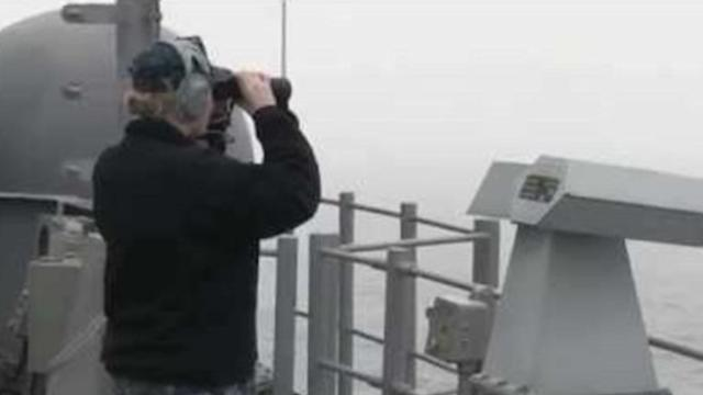 US Navy Assists With Ferry Rescue Operation