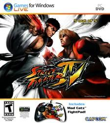 Street Fighter IV PC comes packin' ... a fightpad