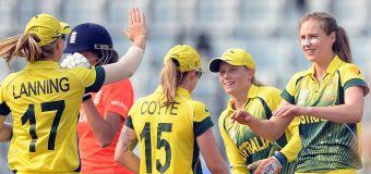 Aussie women fume in clash with Indian cricket