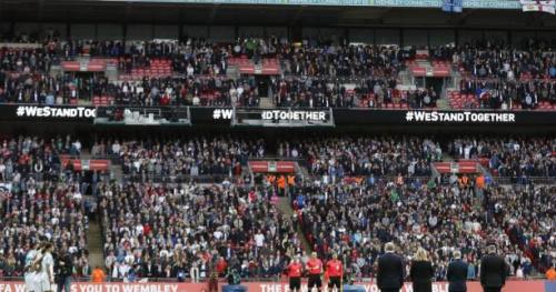 Foot - CM - ANG - Attentat de Londres : Wembley se recueille avant Angleterre-Lituanie
