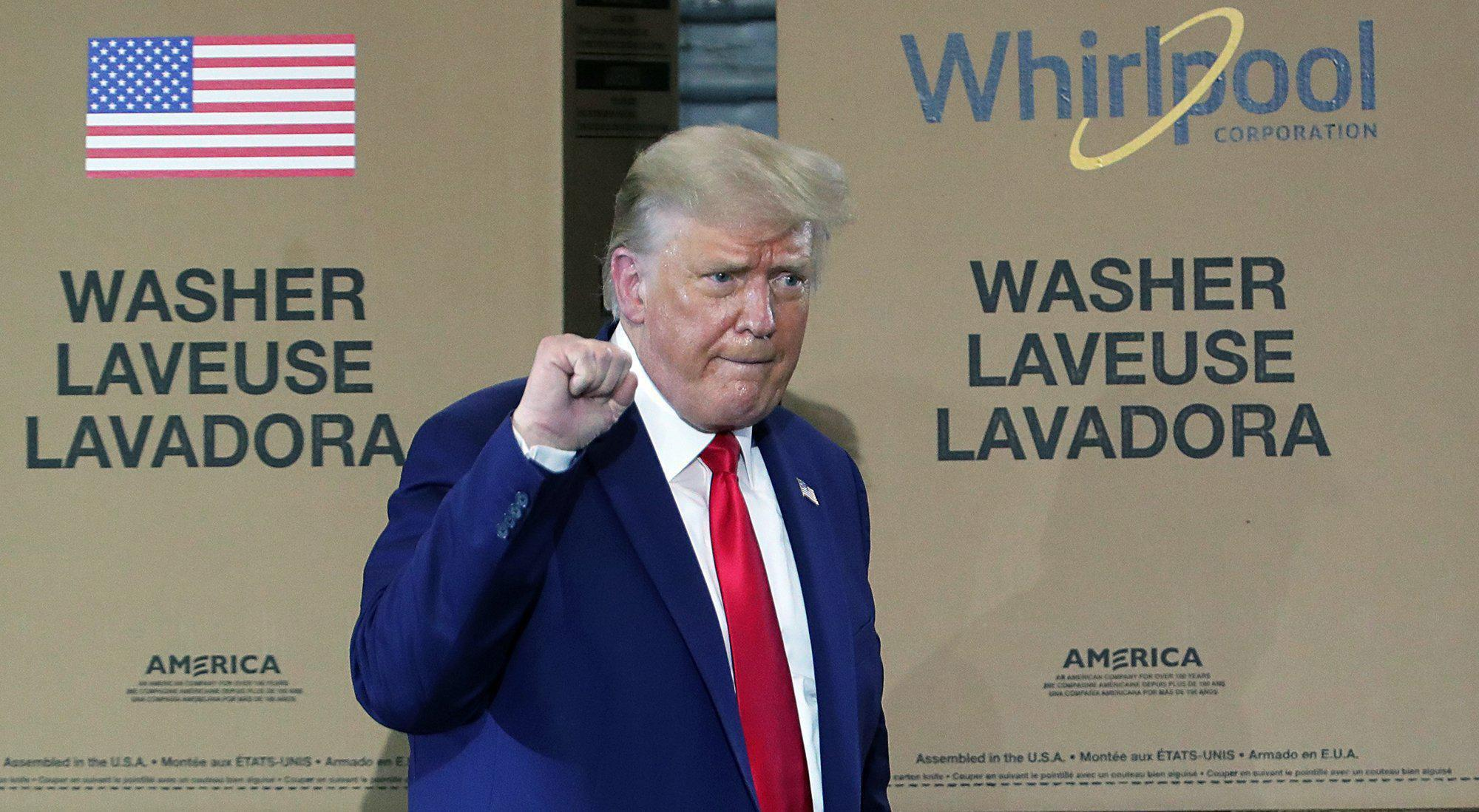 Trump bumbles another geographical name: 'Thigh-land'
