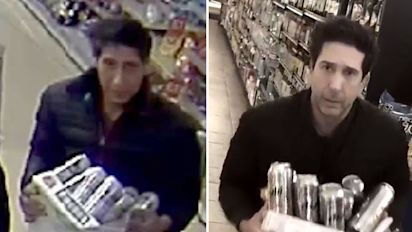 Thief who 'looks like Ross from Friends' doesn't