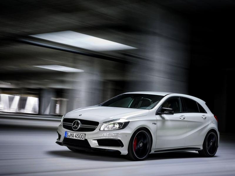 There May Be a Mercedes Benz A-Class Sedan on Its Way