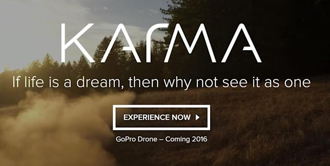 GoPro's first drone is called 'Karma'