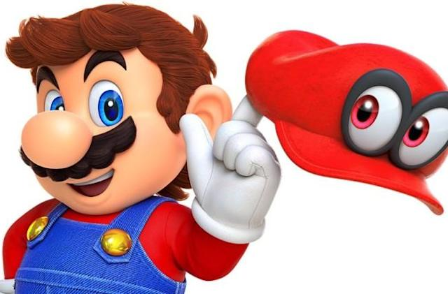 'Super Mario Odyssey' is selling even faster than 'Zelda'