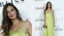 Sara Carbonero y su vestido lencero de los Elle Gourmet Awards 2018