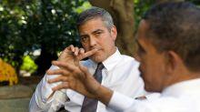 Pool drama at the Clooneys' ahead of the Obamas' Italian visit
