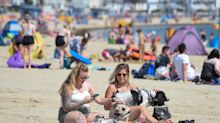 Hottest day of the year officially declared as temperatures hit 31C