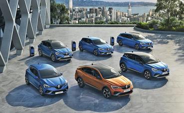 RENAULT為加速擴大電動車陣容,Captur追加Hybrid全油電複合動力車型