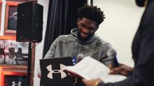 Under Armour Reveals NBA Star Joel Embiid's First-Ever Signature Shoe