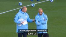 """Man City - Guardiola : """"Monsieur Tebas doit être jaloux de la Premier League"""""""