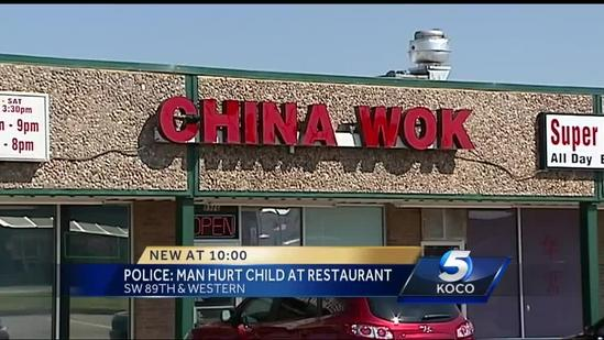 Police: OKC man assaulted child at restaurant