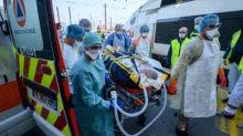 Coronavirus: A bord d'un TGV médicalisé, 24 malades ont quitté Strasbourg pour la Nouvelle-Aquitaine