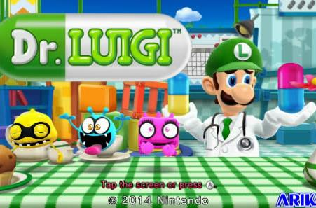 Dr. Luigi announced for Wii U, hits eShop this month