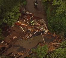 VIDEO: Mudslide slams into Sausalito neighborhood
