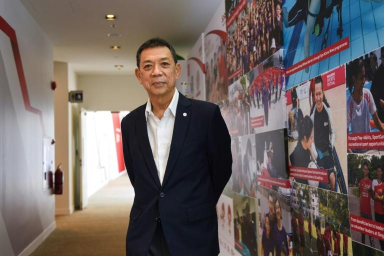 """""""It's about time that in eSports we looked into all this,"""" says Chris Chan, president of the Global Esports Federation, a new eSports governing body based in Singapore as concern grows over health of participants (AFP Photo/Catherine LAI)"""