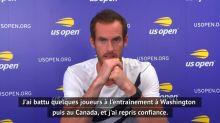 Tennis - US Open : Murray sait qu'il revient de loin