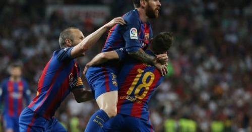 Foot - ESP - Barça - Barça : le Clasico gagné, «un pas important» selon Messi