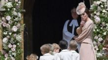 Princess Kate Is Every Mom Shushing the Kids at Her Sister Pippa Middleton's Wedding