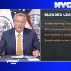 De Blasio plans to have NYC public school students return to classroom 2 or 3 days a week