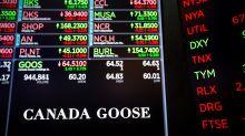 MARKETS: Canada Goose stock flies after big sales beat