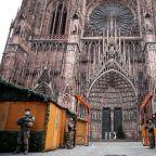 Police hunt across eastern France for Strasbourg Christmas market attacker