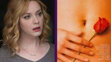 Christina Hendricks revela que la mano del cartel de American Beauty es suya