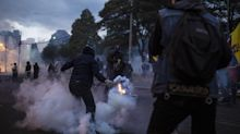 Protesters Parade Police Hostages and Demand IMF Leave Ecuador