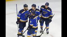 Defending champion Blues brace for Canucks