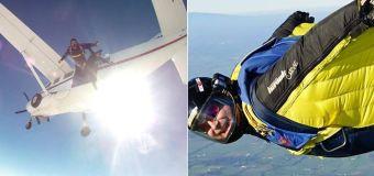 Skydiving instructor dies saving passenger's life