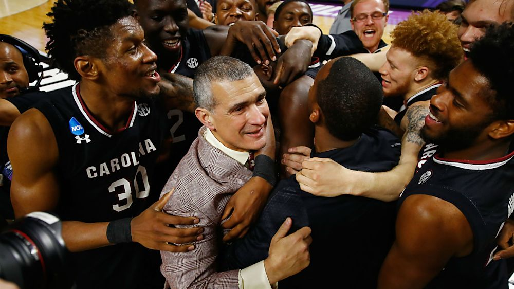 March Madness 2017: Frank Martin's influence at South Carolina stretches far beyond court