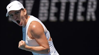 Simona Halep, Muguruza to Meet in Australian Open Semifinals