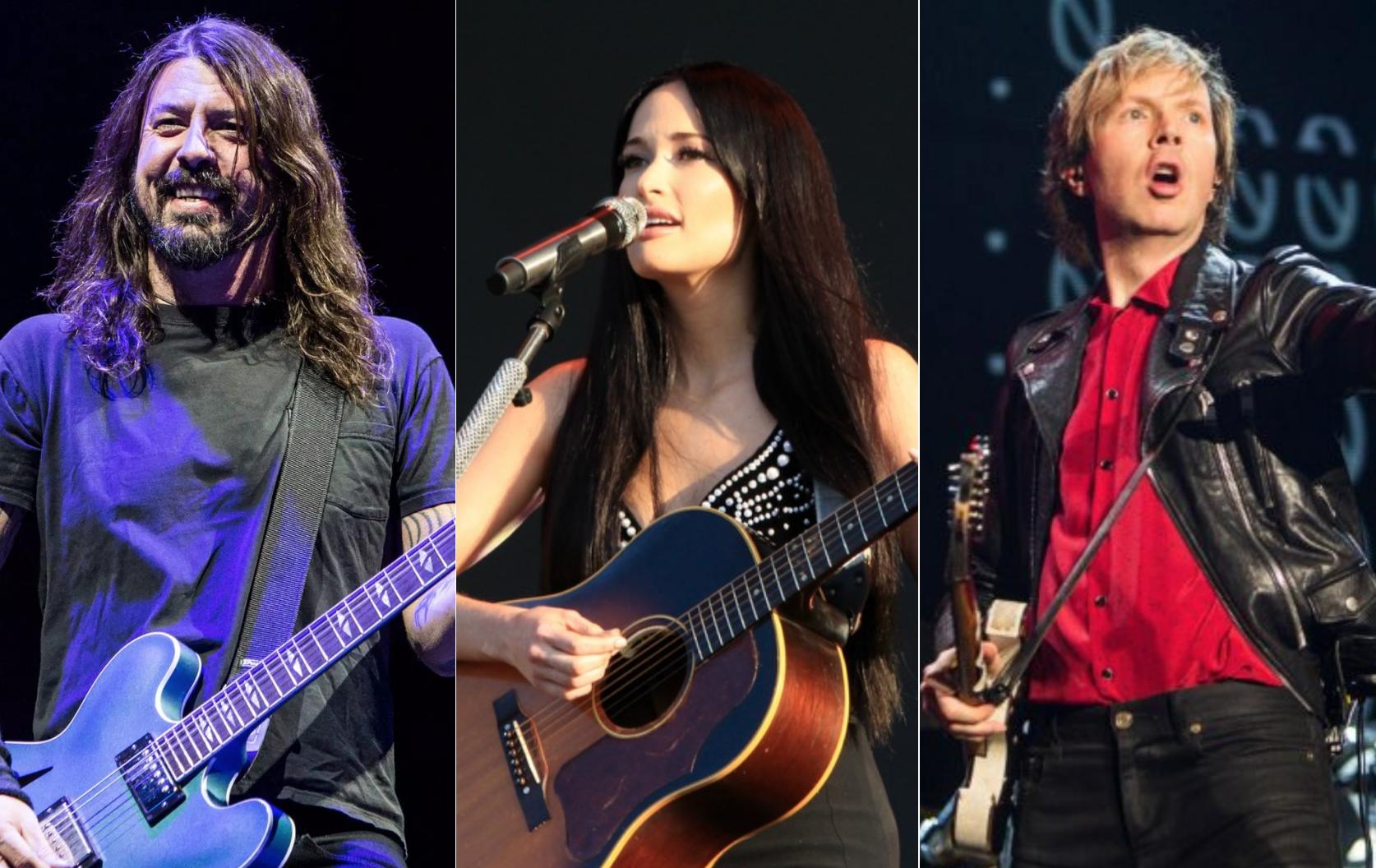 Foo Fighters, Kacey Musgraves, Beck to headline inaugural ...