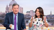 Susanna Reid trolls Piers Morgan on Twitter over Trump blimp