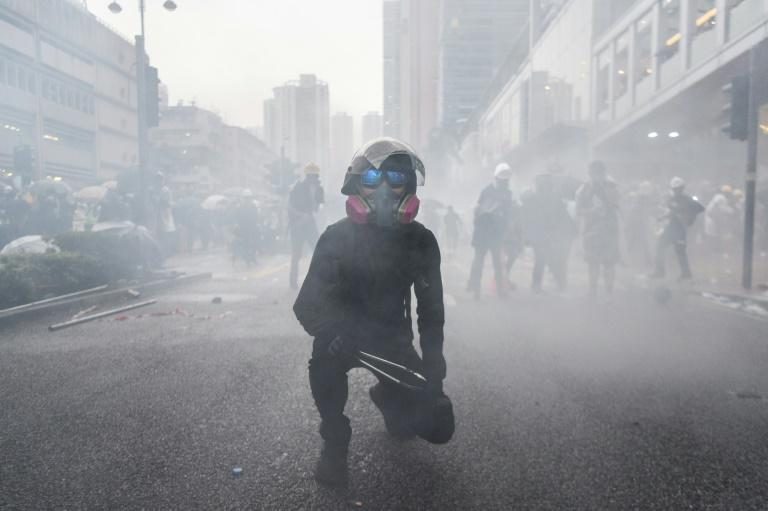 Hong Kong has been gripped by months of pro-democracy protests that have been taking their toll on the economy