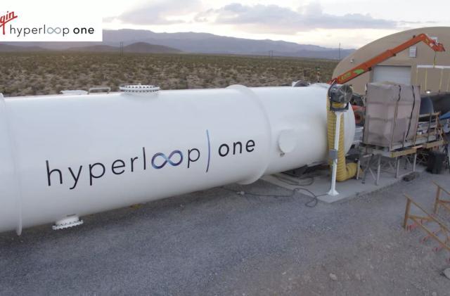 Virgin Hyperloop One might build networks in India