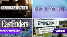 Quiz! Can you name these UK soaps from only three characters?