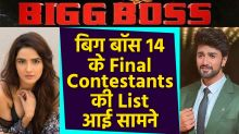 Bigg Boss 14 Final Contestant List Out