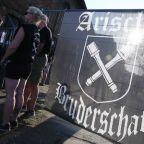 Neo-Nazis hold rock festival in eastern Germany on Hitler's birthday