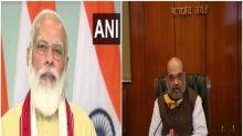 Shah, Rajnath wish PM Modi on his birthday, pray for his long life, health