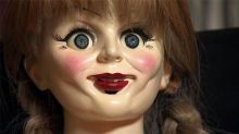 Even the Actors Get Creeped Out by Annabelle (Exclusive Clip)