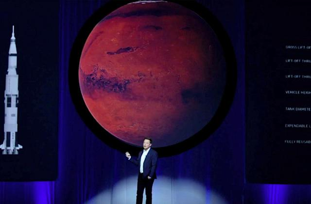 Elon Musk's grand plan to colonize Mars