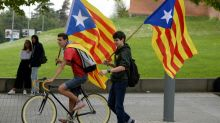 Protests in Catalonia over crackdown on banned independence vote