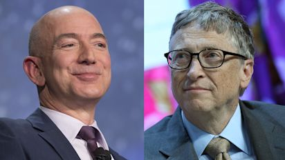 Gates joins Bezos in the $100 billion club