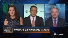 Stocks extend rally, investor positioning still conservat...