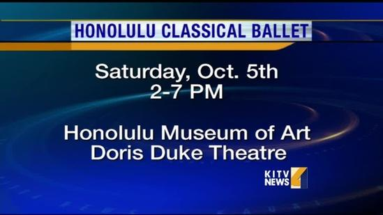 Catch the Honolulu Classical Ballet this weekend!