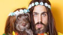 Um homem e seu cachorro fazem sucesso no Instagram